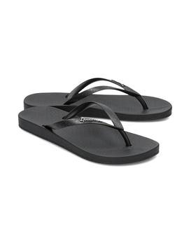 CHANCLAS IPANEMA ANAT COLORS FEM BLACK/BLACK