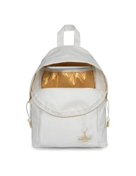 MOCHILA EASTPAK ORBIT SLEEK R GOLDOUT WHITE