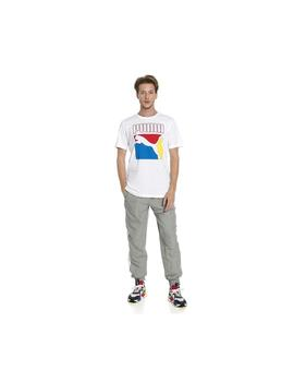 CAMISETA PUMA GRAPHIC BOX LOGO TEE