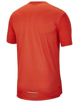 CAMISETA NIKE DRI-FIT MILER TEAM ORANGE/ MAGMA OR