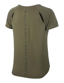 CAMISETA NIKE MEDIUM OLIVE/BLK