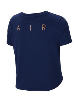 CAMISETA NIÑAS NIKE AIR BLUE GIRLS