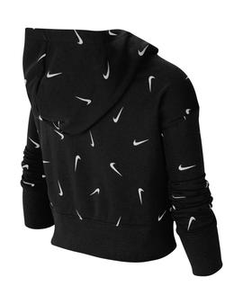 NIKE Big Kids' (Girls') Printed Cropped Hoodie