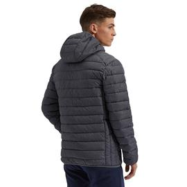 ELLESSE LOMBARDY PADDED JACKET DARK GREY MARL