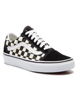 UA Old Skool (PRIMARY CHECK) BLK/WHITE